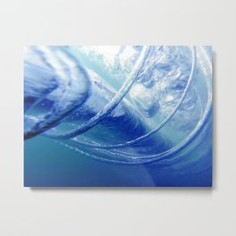 Wave Form Metal Print