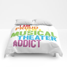 Musical Theater Pride Comforters