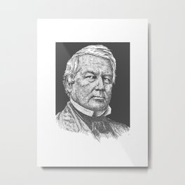 Millard fillmore Metal Print