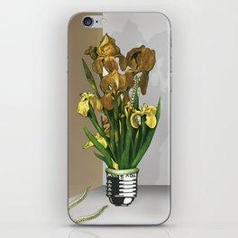 Das Licht der Pflanze iPhone Skin