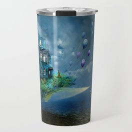 A journey with the wind Travel Mug