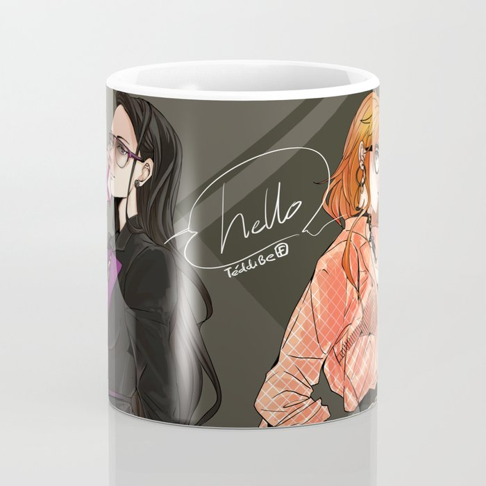 One Piece: Robin & Nami in suit Coffee Mug