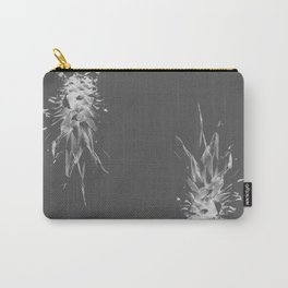 Pineapples on grey Carry-All Pouch