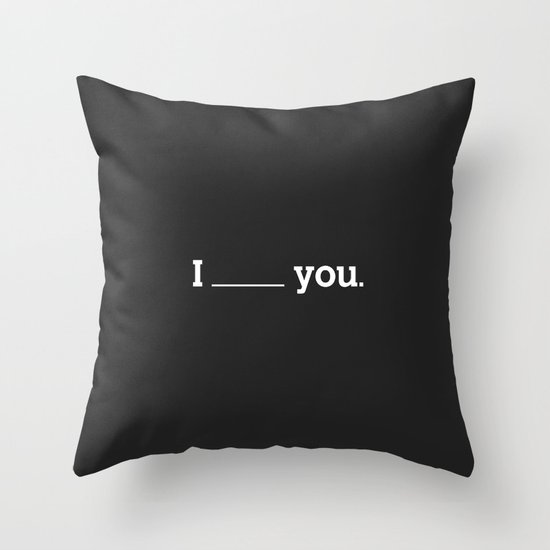 NO FEELING IS PERMANENT Throw Pillow