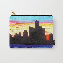 Detroit Skyline Carry-All Pouch