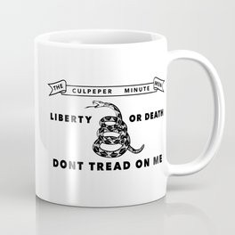 Culpeper Minutemen flag - Authentic version Coffee Mug