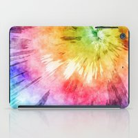 tie dye iPad Cases featuring Tie Dye Watercolor by Phil Perkins