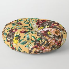 floral ambiance Floor Pillow