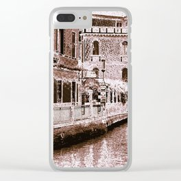 Ventian View Clear iPhone Case