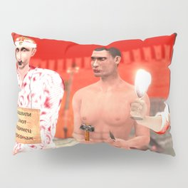 SquaRed: Russian Christianity Pillow Sham