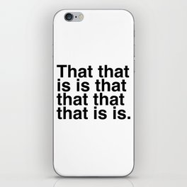 What is that? iPhone Skin