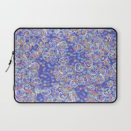 Purple Spiral Laptop Sleeve