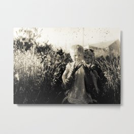 Mom, you are my spring Metal Print