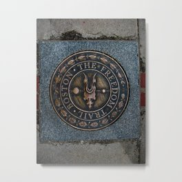 The Freedom Trail Metal Print