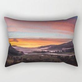 Smokey Dusk Valley Rectangular Pillow