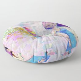 Perfect Little by Jane Davenport Floor Pillow