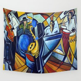 The Jam Session Wall Tapestry