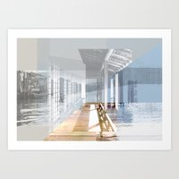 mirror of life and death Art Print