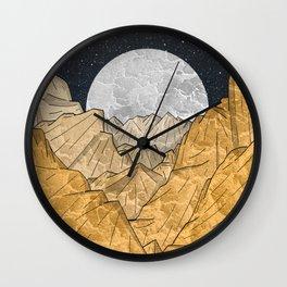 Copper Mounts Wall Clock