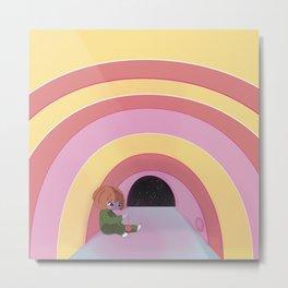 rainbow room Metal Print