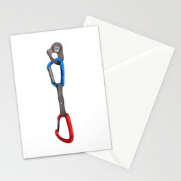 Rock Climbing Quickdraw Stationery Cards