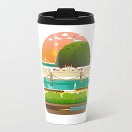 Budapest burger Travel Mug