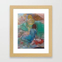 Self-Acceptance Framed Art Print