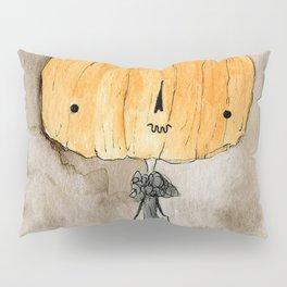 Pumpkin Lady Pillow Sham