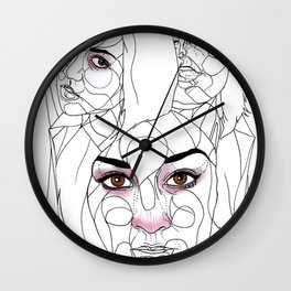 The Guns of Love Disastrous Wall Clock