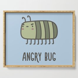 Angry Bug Serving Tray