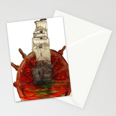 Steering into a new setting Stationery Cards