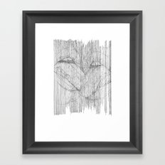 play your part Framed Art Print