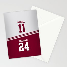 McCall & Stilinski Stationery Cards