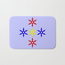 Shuriken Design version 2 Bath Mat