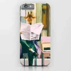 Giraffe reads the paper... iPhone 6s Slim Case