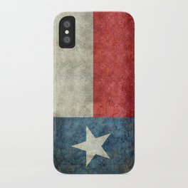 Flag of Texas, Flag of the Lone Star State iPhone Case