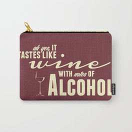 NOTES OF ALCOHOL Carry-All Pouch