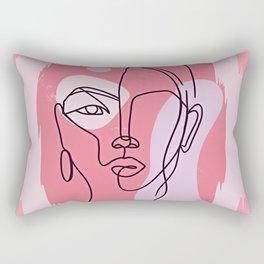Pink Me Rectangular Pillow