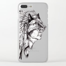Ambiguous Indian Clear iPhone Case