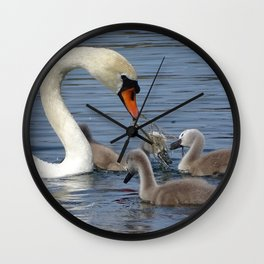 Nourrishing Wall Clock