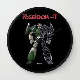 poseidon T Wall Clock
