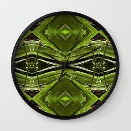 Dew Drop Jewels on Summer Green Grass Wall Clock
