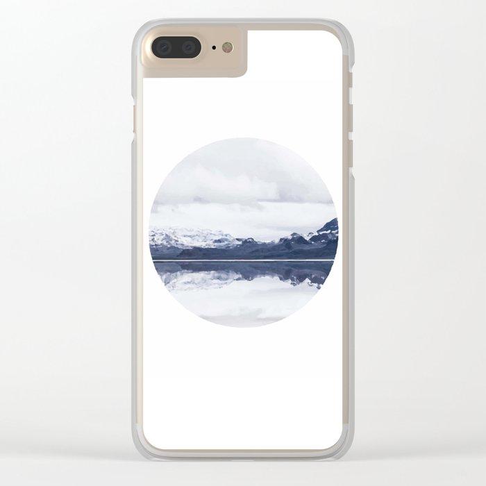Landscape Clear iPhone Case