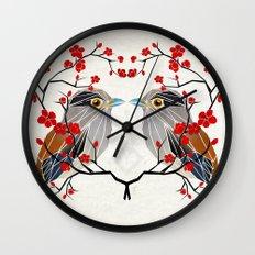 look at me my bird  Wall Clock