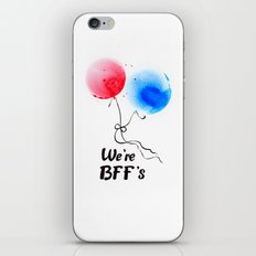 We're BFF's iPhone & iPod Skin