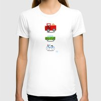 cars T-shirts featuring Cars by Alapapaju