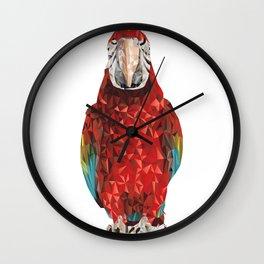 Macaw X Wall Clock