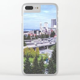 Seattle Summer Clear iPhone Case