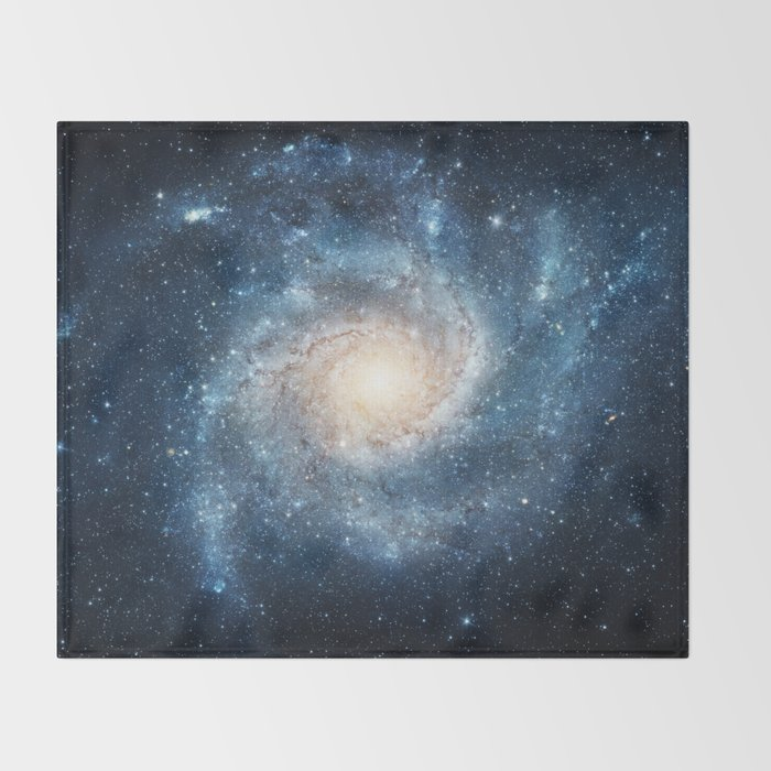 Spiral Galaxy Throw Blanket By Space99 Society6