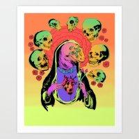 UNHOLY VIRGIN MARY Art Print